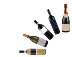 O que fazer com garrafas de vinho vazias