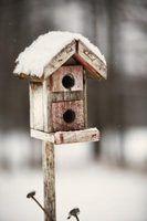 Birdhouses fácil para as crianças a fazer