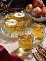 Coisas para servir com cidra de maçã quente