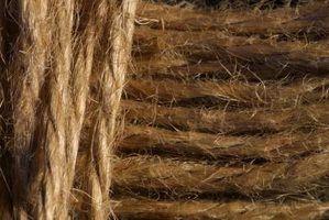 Coisas que você pode fazer para fora da corda do cânhamo