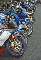 Curvas em um superbike exige concentração