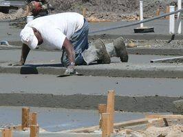 Dicas sobre derramar uma laje de concreto