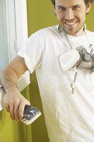 Usar um resperator quando você está lixar ou quimicamente remoção de tintas em drywall.