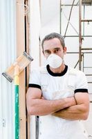 Ferramentas e materiais necessários para drywall patch e reparação