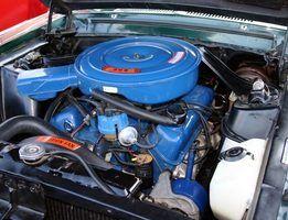motores Ford Windsor são alguns dos poucos veículos que utilizam roqueiro-braço com parafusos.
