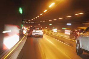 As leis de trânsito e excesso de velocidade em ohio