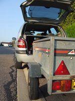 Requisitos de reboque no código de veículo califórnia