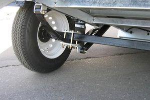 Trailer causas do blowout do pneu