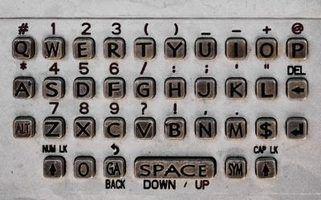 Dois tipos de teclados