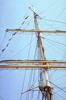 Tipos de mastros do barco