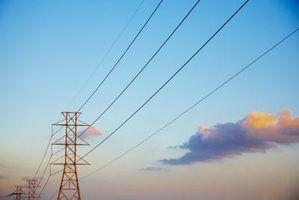 Tipos de cabos de distribuição de transmissão