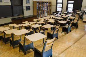 Tipos de comissões para as escolas