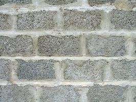 Tipos de juntas de blocos de concreto