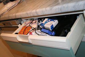 Tipos de corredores de gaveta