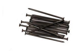 Tipos de pregos de ferro
