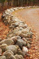 Tipos de paisagismo pedras e seixos