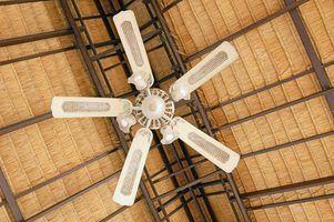Tipos de suportes para ventiladores de teto