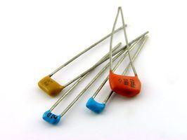Tipos de capacitores não polarizados