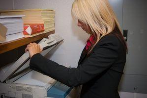 Tipos de máquinas de fotocópia