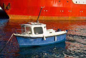 Tipos de pequenos barcos a motor