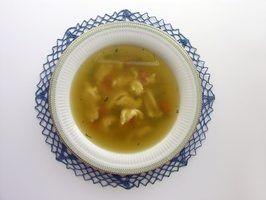Tipos de sopa de massa