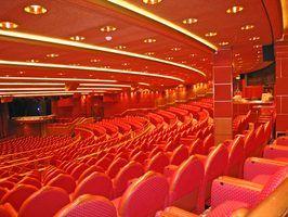 Tipos de assentos do teatro