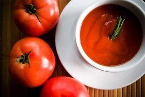 Tipos de sopa de tomate