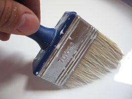 Tipos de tinta à prova d`água
