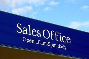 Tarefas diárias típicas de um representante de vendas