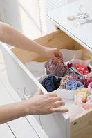 Roupa interior idéias de armazenamento de gaveta