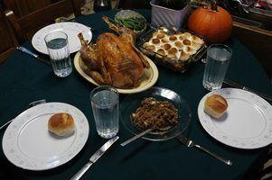 Ideias originais do thanksgiving refeição