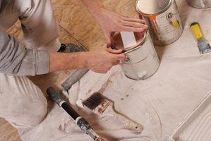 Valspar direções esmalte pintura metálica