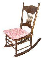 Estilos de cadeira de balanço vitorianas
