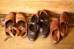 Sapatos que não se parecem com sapatilhas