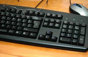 Maneiras de bloquear um teclado pc