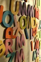 Maneiras de decifrar as letras para formar palavras
