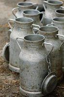 Maneiras de usar latas de leite em casa