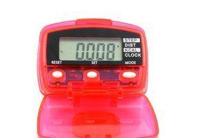 Weight watchers instruções pedômetro