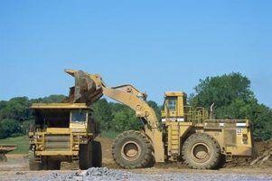 Quais são trilhos escavadora?