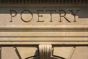 Quais são os pés poéticas?