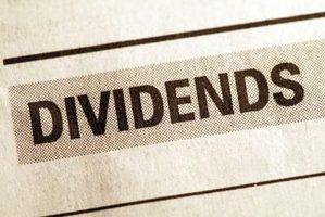 O que é um dividendo acumulado no ano?