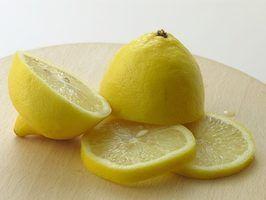 Limões são ácidas.
