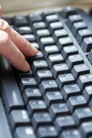 Quais são as teclas fixas no meu teclado microsoft?
