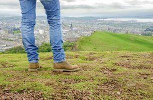 O que são jeans cônico?