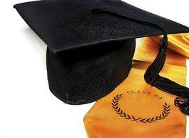 Quais são os significados de cor em estolas de graduação?
