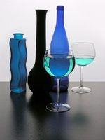 Quais são as diferentes cores de azul?
