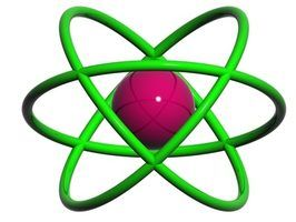 Quais são os diferentes tipos de modelos de átomos?