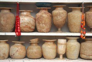 Quais são os diferentes tipos de vasos?