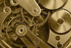 Quais são as partes dentro de um relógio?