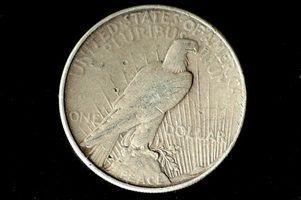 Quais são os mais raros dólares paz?